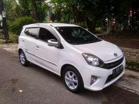 Dp 9 Jt !! Toyota AGYA G Automatic 2013 * Antik *