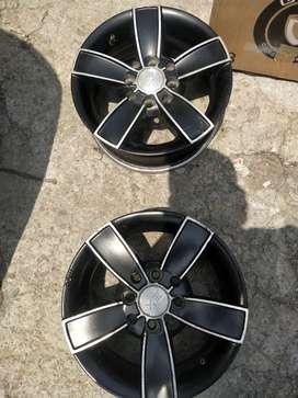 13 inch alloy wheels set of 4 piece.