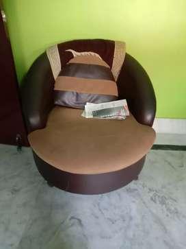 2single seater sofa
