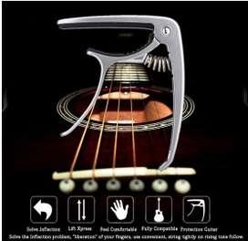 SLOZZ Capo Gitar Chord Acoustic Standart Aluminium Alloy - M556 - Blac
