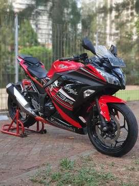 Kawasaki Ninja 250 FI Plat F Cilengsi