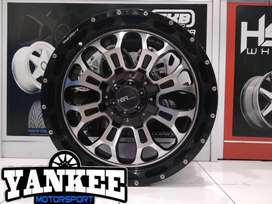 Velg Mobil Fortuner Trailblazer dll Ring 20 HSR Wheel CITIUS H6X139,7