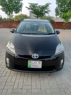 Toyota Prius with Sunroof and solar panels