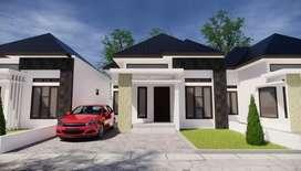 Rumah baru tipe 70 belakang Samsat batoh
