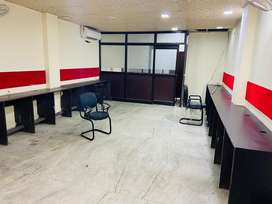 Fully furnished office space for rent in laxmi nagar