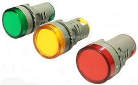 LED Electric Indicator Led  Panel  light Red,Green,Yellow set of 3 pcs