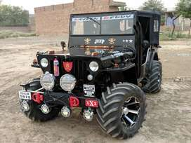 Open Modified jeep in New look off Roading looking