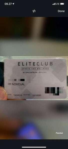 Fitness member elite club