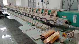 Tajima embroidery machine operator and framer