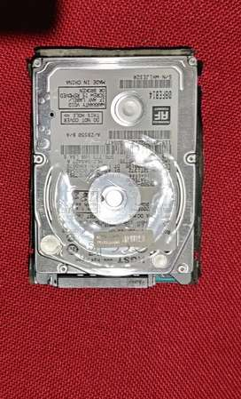500 gb  laptop hdd good condition