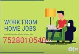 Customer service representative online work