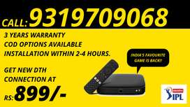 Tata Sky Hd setup Box New Connection Airtel Dth, Tatasky dhamaka offer