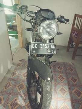 Jual Yamaha Byson modif Cafe Racer 2012 Makassar