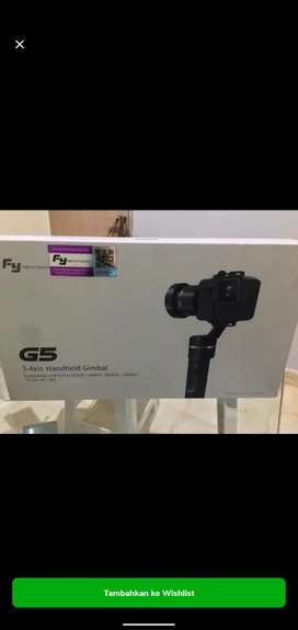 FEIYUTECH G5 3-Axis Handheld Gimbal for GoPro/Brica/Action Camera