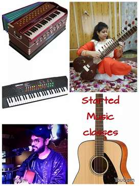 Tution classes at home. If u r music lover plz try once.