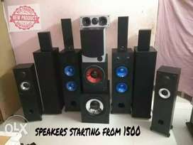 Speakers starting from (1500)