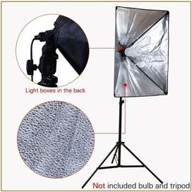 Payung Softbox 50x70cm + Single lamp Holder