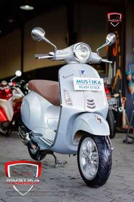 Vespa Primavera 150 I Get ABS 2019.Km12rb.Pajak Baru.Warno Mustika