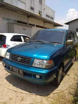 Toyota Kijang 1.8 LSX 2000 Biru. Panther atau Kuda