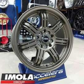 Ring 16 Velg Racing Mobil Ertiga Grandmax Ring 16 Pcd 5x100 & 5x114,3