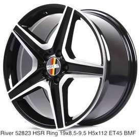 jual velg mobil R19 bagus untuk mobil Audi