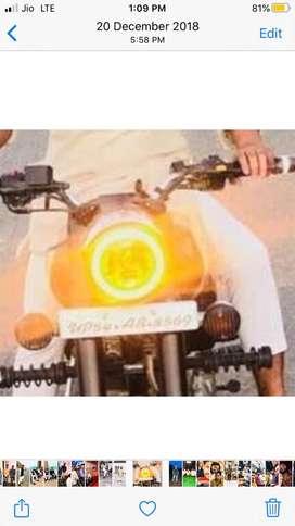 Bullet headlight