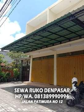 Disewakan / sewa / Dikontrakkan ruko 2 lantai area denpasar kota murah