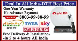 New Tata Sky HD tatasky Airtel Dish TV Dishtv Videocon airteldth COD