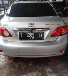 Toyota Corolla altis g matic 2009