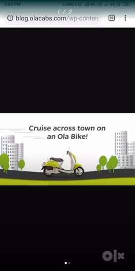 Riders required for Ola