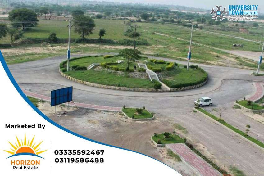 5 Marla Residential Plot university town 0