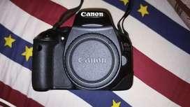 Kamara canon 550d + lensa 18 -55mm