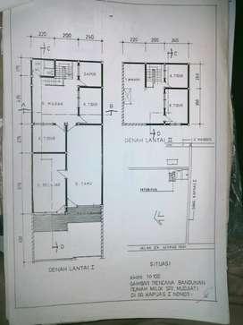 Dijual Rumah SHM 2 Lantai