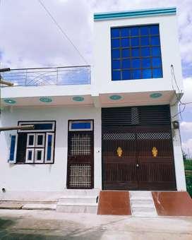 100 Gaj ka  Ghar for sale with 80% bank loan facility