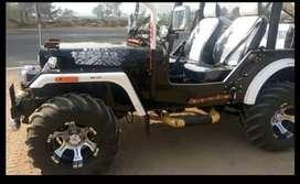 Open modified mahindra jeep