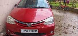 Toyota Etios 2011 Petrol 28500 Km Driven