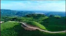 Tanah perbukitan luas kota Waikabubak sumba barat ntt