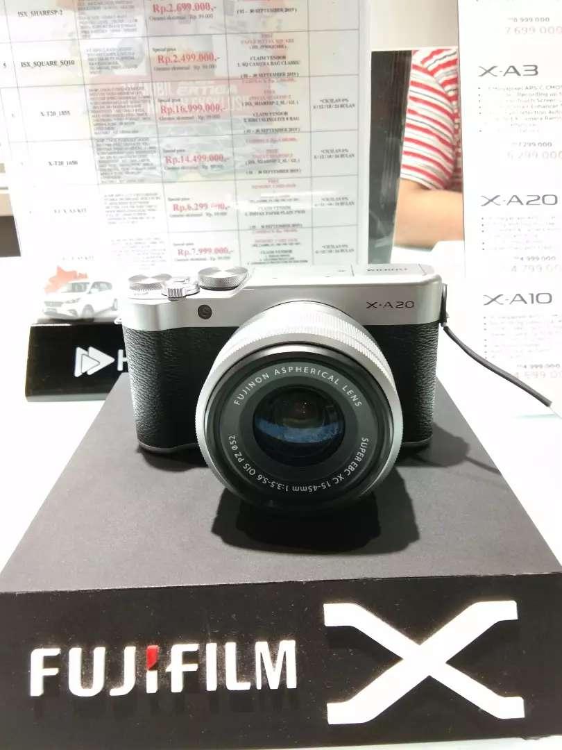 Nyicil kamera fujifilm X-A20 di homecredit aja no ribet yaa gercep 0