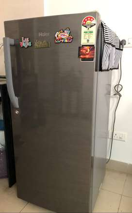 Haier single-door fridge (excellent condition)