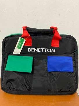 Benetton laptop bags