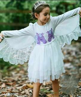 Girls angel frocks