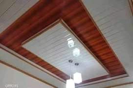 Plafon ruang tamu dan kanopi