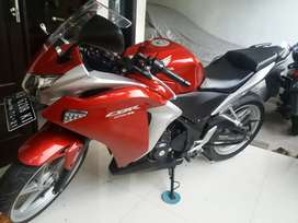 Cbr 250 cc buil up Thailand plat Nomer Kudus.