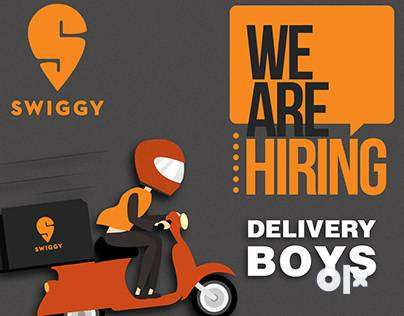immediately joinings for delivery boys 0