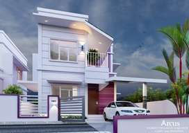 1005 sqft Budget friendly villas @ chandranagar | 30.90 L on wards