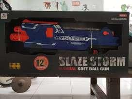 Blaze Storm Manual Soft Ball Gun