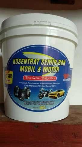 konsentrat semir ban mobil/motor