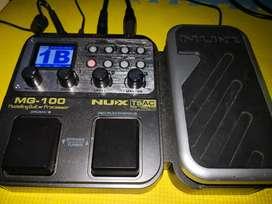 Efek Gitar Nux MG100 Looper