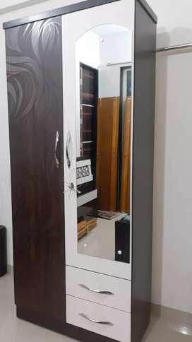 Brand New Two Door Almirah Cum Dressing Table