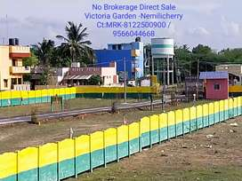 Direct Owner Sale No Brokerage Nemilicherry Cmda Plots